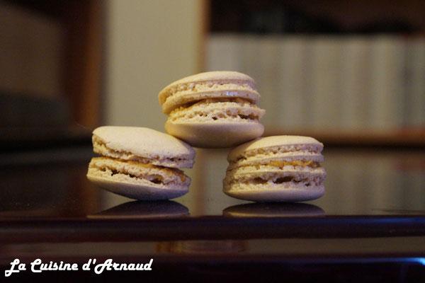 Macarons au caramel beurre salé (pas en grande forme ...)