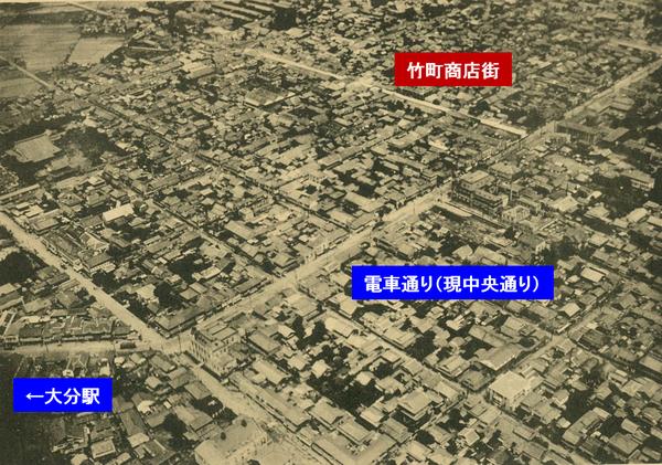 大分市勢要覧(昭和8年)所収