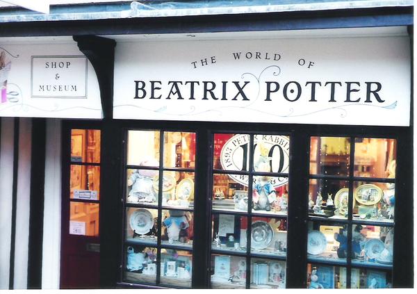 Beatrix Potterの店