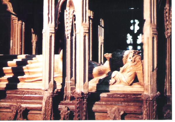 Edward2世の墓