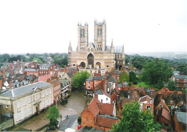 Watch Towerから見た大聖堂