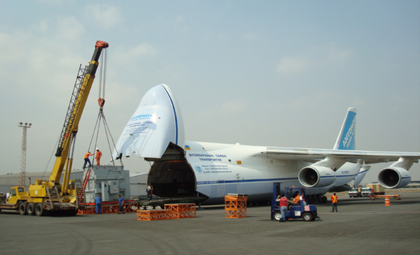 Soon to be modernized – one of Antonov Airlines' 7 An-124s