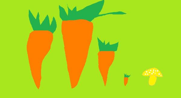 carote e funghi