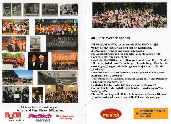 40 Jahre Werner A.Dippon