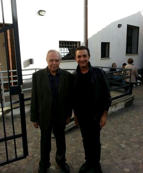 Foto dei preparativi - Il Gen. Cremona e Tony I0GOJ