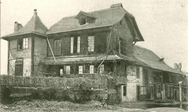 Das Grundmann-Haus am Falkenplatz