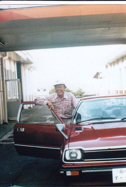沼津SFで点検!SNプレリュード、本田宗一郎氏の愛車です