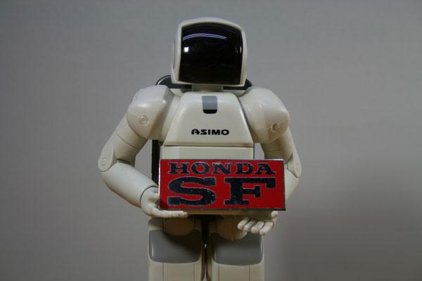 ホンダSFの工場で使用されている工具類にこのエンブレムが貼ってありました。