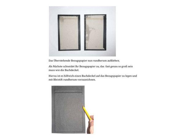 anleitung fotoalbum kunsthandwerk von der k ste buchbindearbeiten und material zum buchbinden. Black Bedroom Furniture Sets. Home Design Ideas