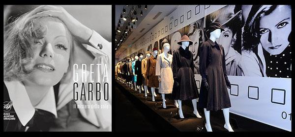 """Exposition """"GRETA GARBO le mystère d'un style"""" au musée FERRAGAMO où fut également exposé le tailleur"""