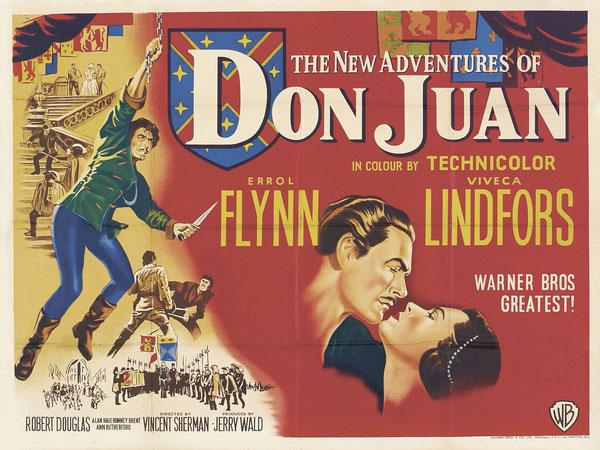 """...puis dans """"AVENTURES OF DON JUAN"""" de 1948 (même scène de procession réutilisée 10 ans après par économie!!) pas de photo"""