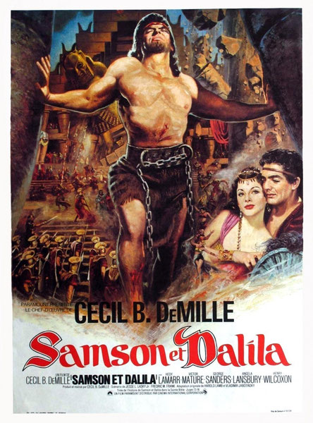 SAMSON and DELILAH 1949.
