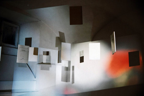 memories, Change studio d'arte contemporanea, Rome, 1998.