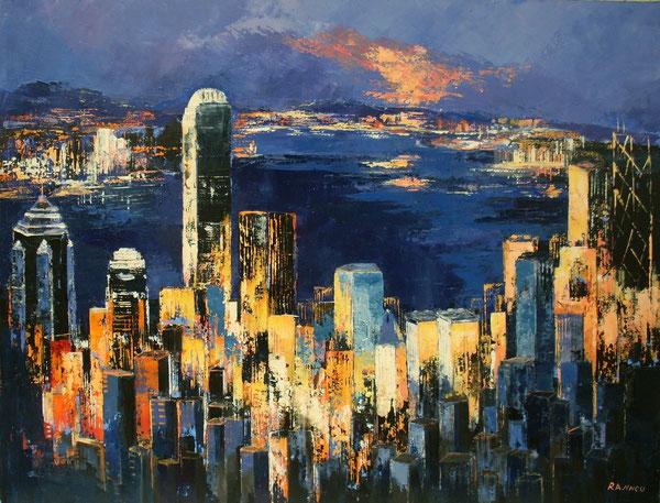 9 - Hong-Kong 116 x 89 cm hst