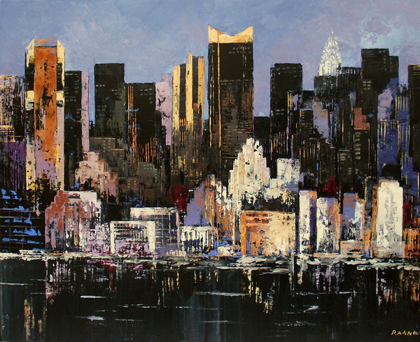 10 - New - York un soir 92 x 73