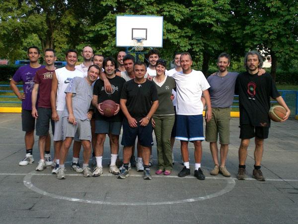Cristina e gli amici di Franci 18/07/2009