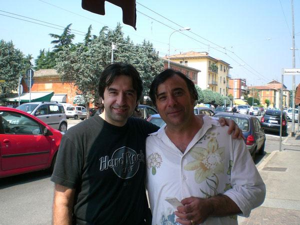 Il direttore con Tiziano