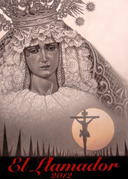 Portada de la guia de Semana Santa de Sevilla El Llamador, año 2012