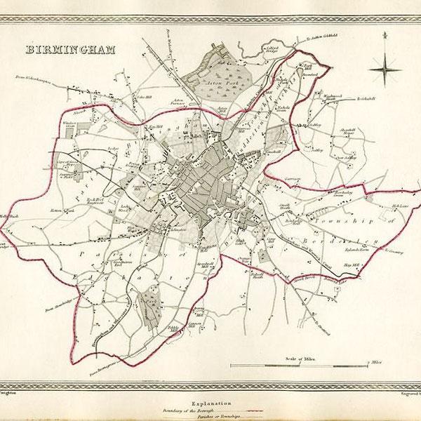 Birmingham in 1835