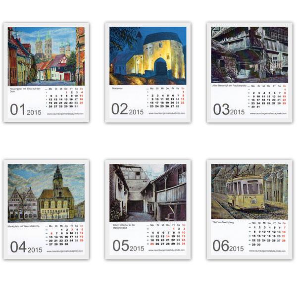 Tischkalender im CD-Jewel-Case