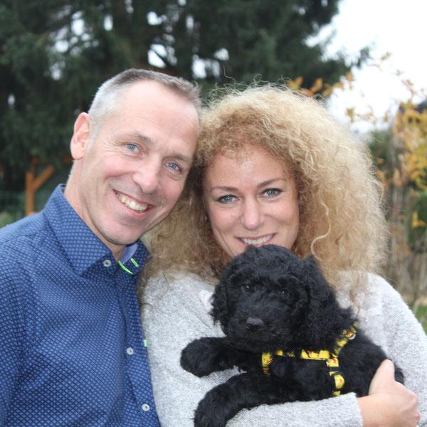 Bob wohnt jetzt bei Jeannette,Paul und ihren Kindern in Holland