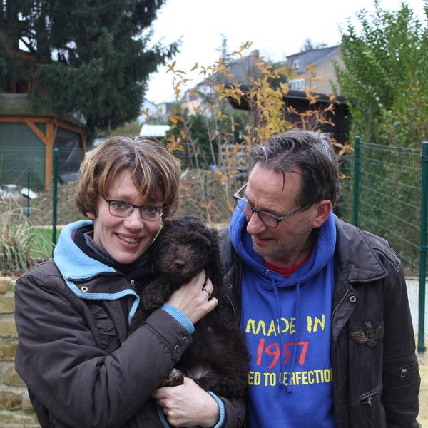 Lara wohnt jetzt bei  Dorine,Simen und ihren Kindern in Holland