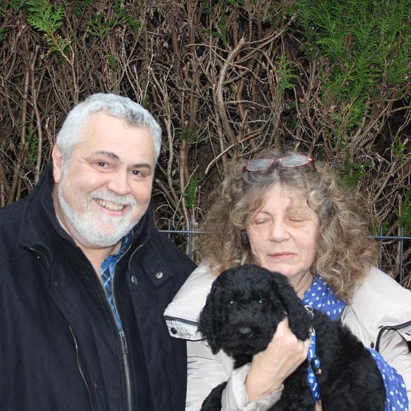 Spawn wohnt jetzt bei Christophe und Claudine in Frankreich