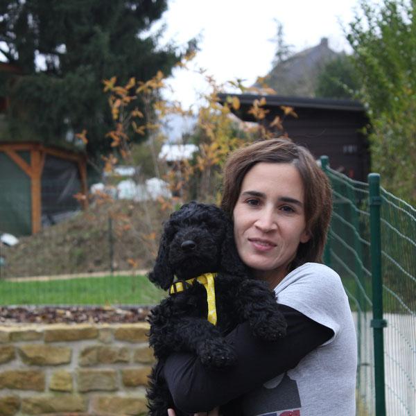 Sirius wohnt jetzt in der Schweiz bei Christina und ihrer Familie