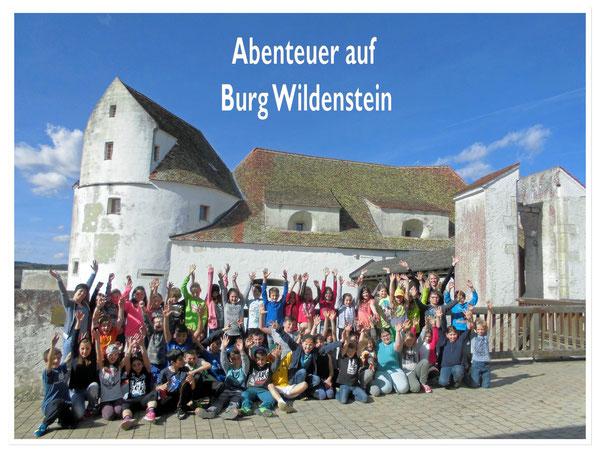 Abenteuer auf Burg Wildenstein!