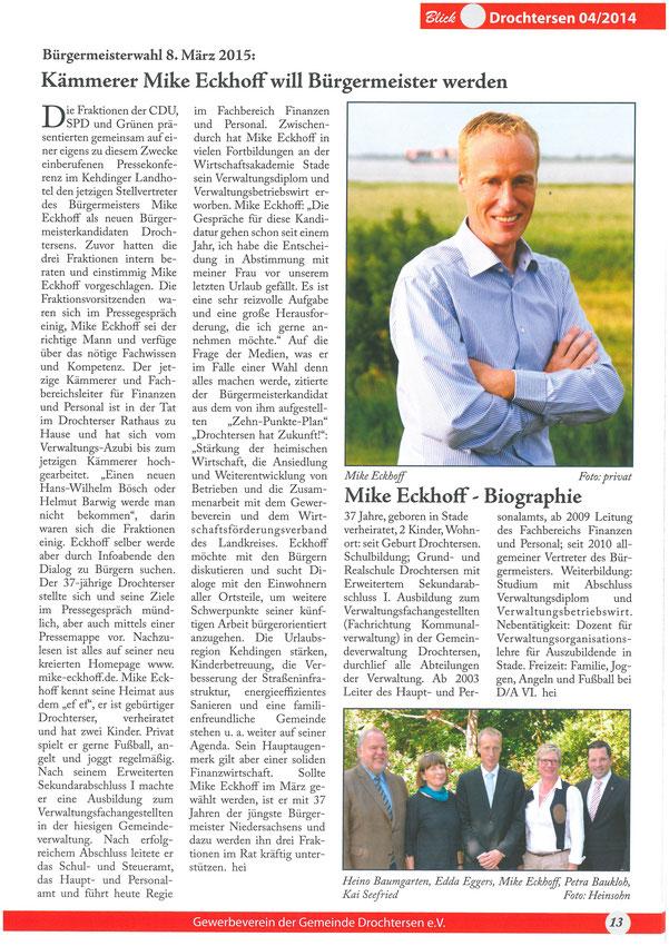 Blickpunkt Drochtersen Nr. 4/2014