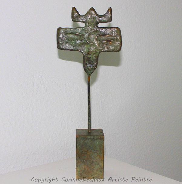 Les gardiens de la Mémoire  Bronze H:31
