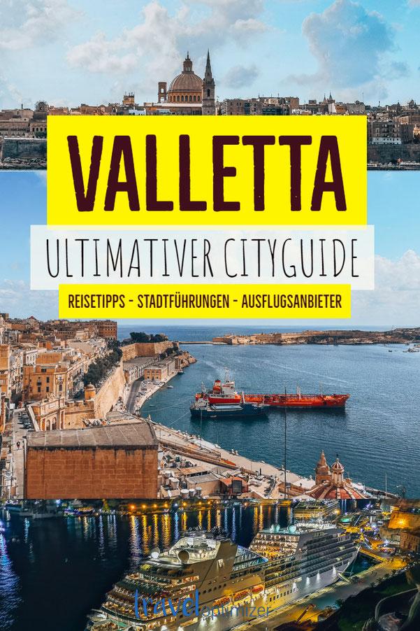 Pin Valletta Cityguide
