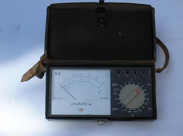Neuberger  Vielfach Multimeter Typ. Unavo  4