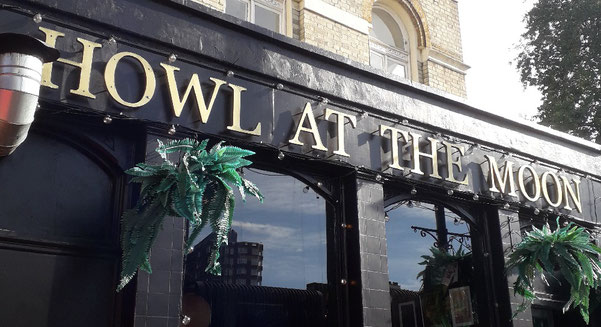 Howl at the Moon pub Hoxton