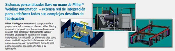 Sistemas personalizados llave en mano Miller