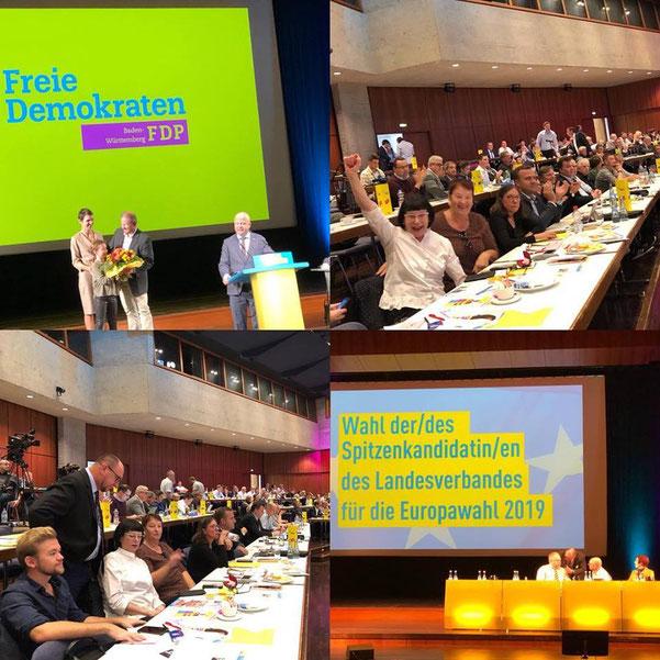 20. Oktober 2018 - Gratulation an den Spitzenkandidaten unseres Landesverbandes Andreas Glück MdL! #fdpbw #europawahl2019 #klaushoher