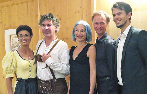 Julia Resinger, Roman Kollmer, Eva Billisich, Kurt Hexmann, Reinhard Steiner, Foto: © Korherr