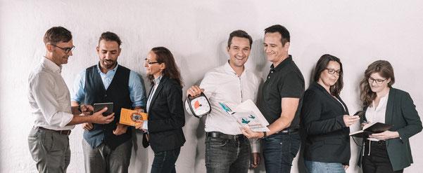 Team des EXPERTS & TALENTS Center of HR Excellence