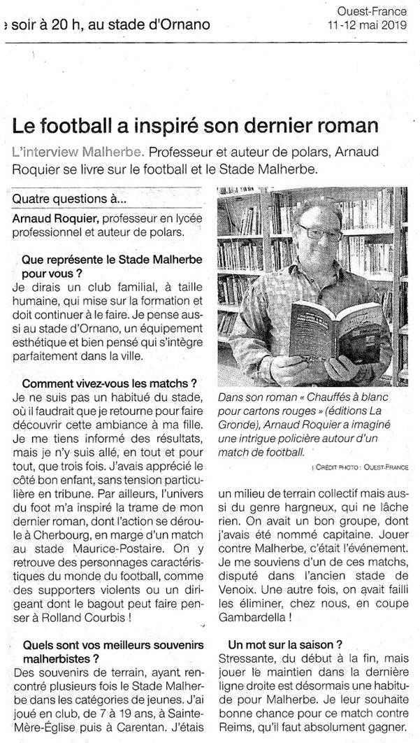 Ouest-France édition Caen samedi 11 mai 2019