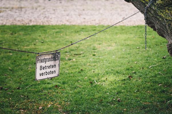 Privatgrundstück  ·  Betreten verboten