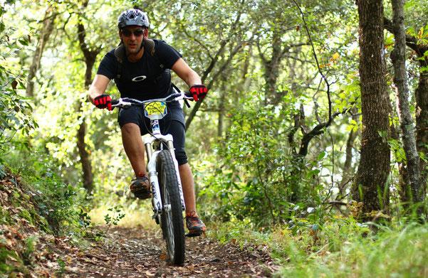 Espace VTT Aude en Pyrénées - Forêt de Carach