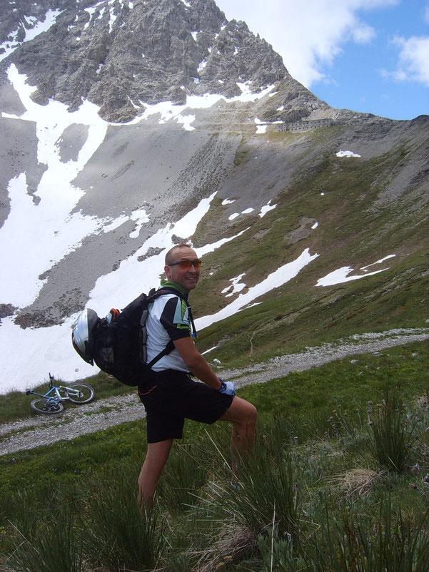 il gran premio della montagna odierno è il rudere  lassù