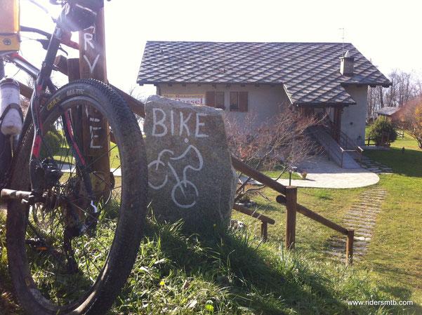 in caso di necessità vi è anche il bike service ristorante
