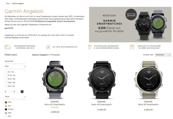 Christ Hugo Boss Smartwatch