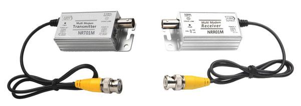 アナログHD(AHD専用)ノイズ除去&長距離伝送装置 NRC01M - 製品写真
