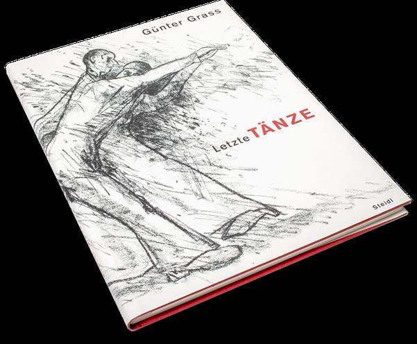 Günter Grass, Letzte Tänze, Cover, Buch, Book, Katalog, Catalogue, Layout, Gestaltung, Buchgestaltung, Typografie, Typography, claasbooks, Claas Möller