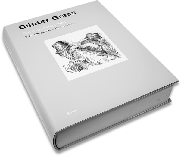 Günter Grass, Catalogue Raisonné, Cover, Buch, Book, Katalog, Catalogue, Layout, Gestaltung, Buchgestaltung, Typografie, Typography, claasbooks, Claas Möller
