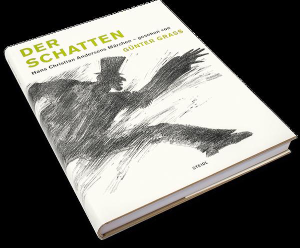 Günter Grass, Der Schatten, Cover, Buch, Book, Katalog, Catalogue, Layout, Gestaltung, Buchgestaltung, Typografie, Typography, claasbooks, Claas Möller