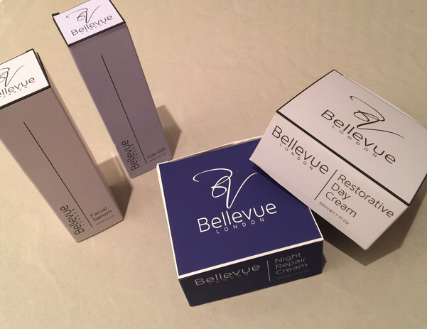 Day Cream Box, Night Cream Box, Facial Serum Box and Eye Gel Box