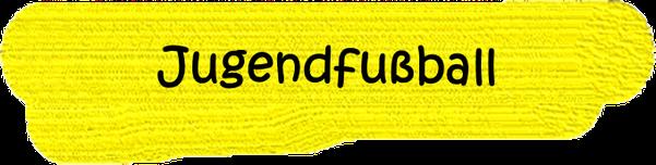 VfL Altenhagen schwarzes Wort Jugendfußball auf gelbem Grund